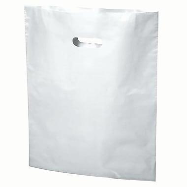 Die-Cut Handle Bags Solid Fashion Colours - 20 x 23