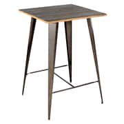 Lumisource Oregon Pub Set Table BT-TW-OR BN+GY