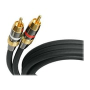 StarTech 20' Premium Stereo Audio Cable, Black (AUDIORCA20)