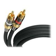 StarTech 6' Premium Stereo Audio Cable, Black (AUDIORCA6)