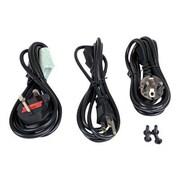 StarTech.com ® 20-Slot 2U Rack Mount Chassis for ET Series 2 Fiber Media Converter, Black (ETCHS2U)