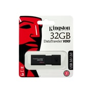 Kingston® DataTraveler 100 G3 32GB External USB Flash Drive