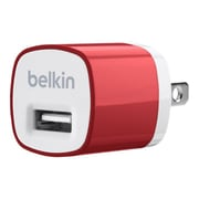 Belkin MIXIT 5W USB Home Charger, Red (F8J017TTRED)