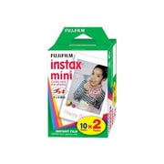 Fujifilm Instant Color Film for Fujifilm Instax Mini Cameras, White (16437396)