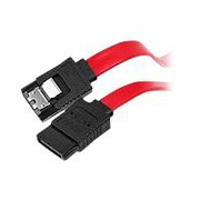 SIIG® CB-SA0512-S1 1' SATA Male/Male Data Transfer Cable, Red