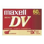 Maxell 298022 60min Mini Digital Video Cassette, 4/Pack
