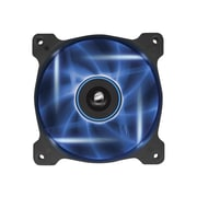 Corsair® Air Series AF120 Quiet Edition High Airflow Cooling Fan, Black with Blue LED (CO-9050015-BLED)
