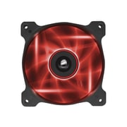Corsair® Air Series AF120 Quiet Edition High Airflow Cooling Fan, Black with Red LED (CO-9050015-RLED)