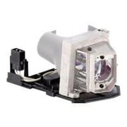 V7 Replacement Lamp For Dell 1410X Projector, 200 W