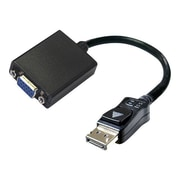 Accell® UltraAV® B101B-003B-2 DisplayPort to VGA Male/Female Active Video Adapter, Black
