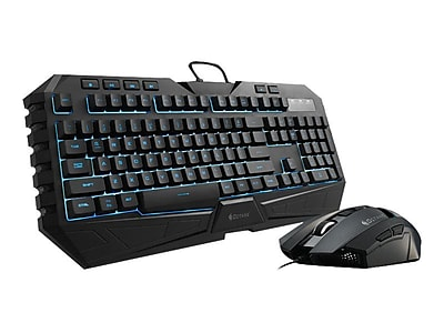 Cooler Master Octane (SGB-3020-KKMF1-US) USB 2.0 Wired Optical Gaming Keyboard and Mouse Combo, Black