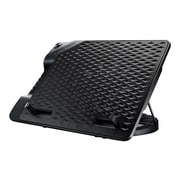 "Cooler Master® NotePal ErgoStand III Slim Cooling Stand for 17"" Laptop, Black (R9-NBS-E32KU-GP)"