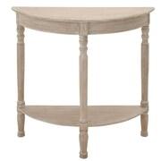 Woodland Imports Nicole Console Table; Cream