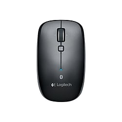 Logitech M557 Bluetooth Mouse (Gray)