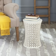 Safavieh Camilla Garden Stool; Cream