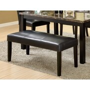 Hokku Designs Parker Leatherette Kitchen Bench