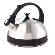 Creative Home Steppes 2.8-qt. Whistle Tea Kettle; Black