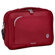 Traveler's Choice Birmingham Laptop Briefcase; Red