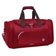 Traveler's Choice Birmingham 21'' Travel Duffel; Red