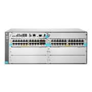 HP® 5406R JL003A 44 Port Gigabit Ethernet Rack Mountable Switch, Black/Gray