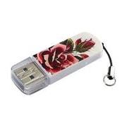Verbatim ® Tattoo 8GB Mini USB 2.0 Flash Drive, Rose (98660)