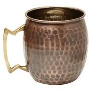 Old Dutch Antique Hammered 16 Oz. Moscow Mule Mug (Set of 4)