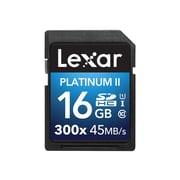 Lexar® Platinum II UHS-I U1 Class 10 16GB SDHC Memory Card