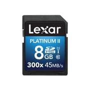 Lexar® Platinum II UHS-I U1 Class 10 8GB SDHC Memory Card