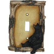 American Expedition Bear Single Switch Plate Cover