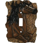 American Expedition Horse Single Switch Plate Cover