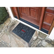 FANMATS NCAA University of Louisville Medallion Door Mat