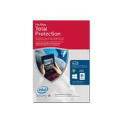 McAfee® Total Protection 2016 Internet Security Software, Unlimited Device Box Pack, Windows, Download (MTP16EMB9RAA)
