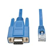 Tripp Lite P430-006 6' DB9/RJ-45 Female/Male Serial Console Port Rollover Cable, Blue