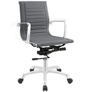 Modway Runway Mid-Back Office Chair; Gray