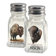 American Expedition Bison Salt and Pepper Shaker