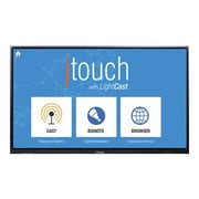 "InFocus INF6501CAG JTouch 65"" LED LCD Interactive Whiteboard with LightCast, Black"