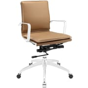 Modway Sage Mid-Back Task Chair; Tan