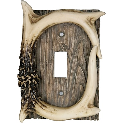 American Expedition Deer Antler Single Switch Cover WYF078278071778