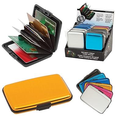 Merangue Security RFID Wallet, Assorted, 12/Pack