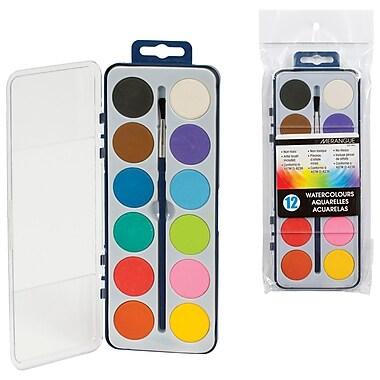 Merangue – Ensemble de peinture aquarelle avec 12 couleurs assorties