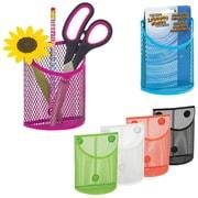 Merangue PB Magnetic Mesh Pencil Cup, Assorted Colours, 12/Pack