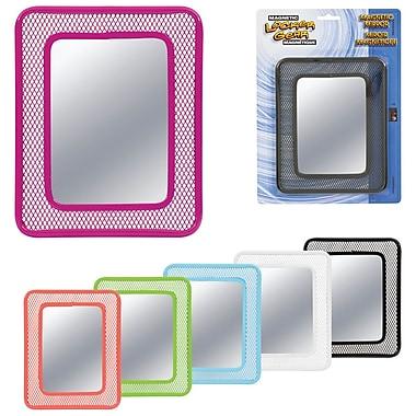 Merangue PB Magnetic Mesh Locker Mirror, 12/Packs of 12