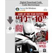 Batman : Arkham City – Édition Jeu de l'année pour PC (téléchargement)