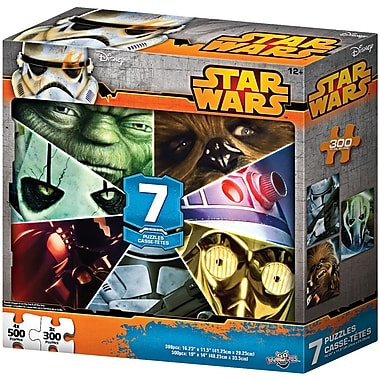 Star Wars 55046 7-in-1 Puzzle Multipack
