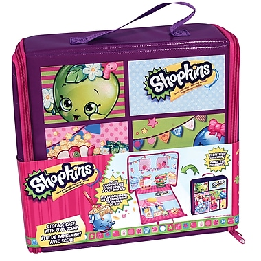 Shopkins 70680 Storage Case with Scene