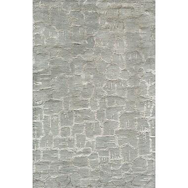 Momeni Zen Hand-Tufted GrayArea Rug; 3'6'' x 5'6''