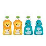 Squooshi 2.5 Oz. Reusable Food Pouch (Set of 4)
