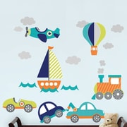WallPops! Wall Art Kit on The Go 19 Piece Wall Decal Set