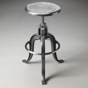 Butler Metalworks Adjustable Height Swivel Bar Stool