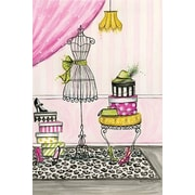 iCanvas Vanity Room B by Bella Pilar Painting Print on Canvas; 26'' H x 18'' W x 0.75'' D